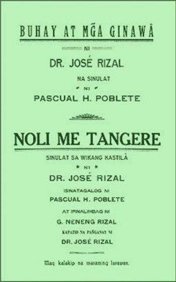 essay about jose rizal tagalog Author, in his essay rizal in  philosopher-writer, in his essay rizal, the tagalog hamlet, in rizal  zaide, gregorio (2003), jose rizal: life.